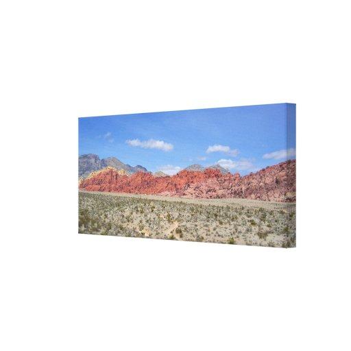 Red Rock Canyon Canvas Prints