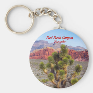 Red Rock Canyon Conservation Area near Las Vegas Basic Round Button Keychain