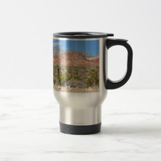 Red Rock Canyon in Nevada Travel Mug