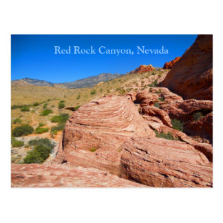 Red Rock Canyon near Las Vegas Boulevard Postcard