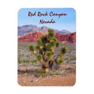 Red Rock Canyon Near Las Vegas, Nevada Magnet
