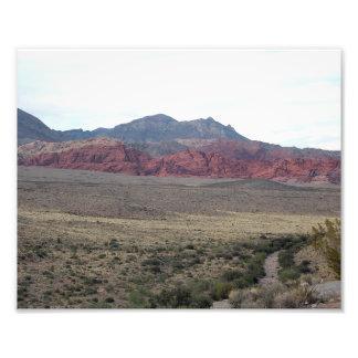 "Red Rock Canyon NV (2) 10"" x 8"" Photo Enlargement"