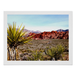Red Rock Conservation Area, Las Vegas Poster