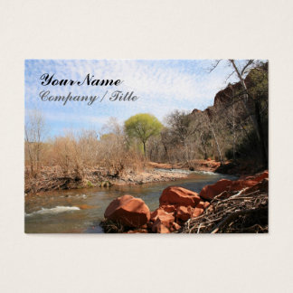 Red Rock Creek Business Card