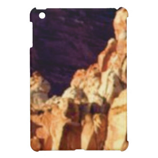 red rock formations in stone cover for the iPad mini