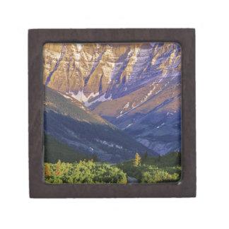 Red Rock Road in Waterton Lakes National Park Premium Keepsake Box
