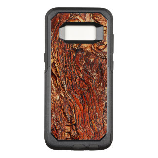 Red Rock Texture OtterBox Commuter Samsung Galaxy S8 Case