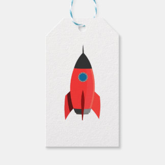 Red Rocket Gift Tags