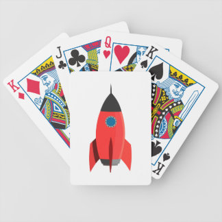 Red Rocket Poker Deck