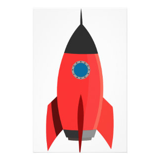 Red Rocket Stationery
