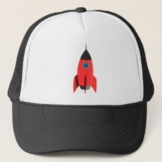 Red Rocket Trucker Hat