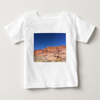 Red rocks and blue skies baby T-Shirt