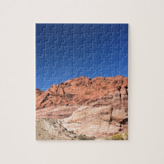 Red rocks and blue skies jigsaw puzzle