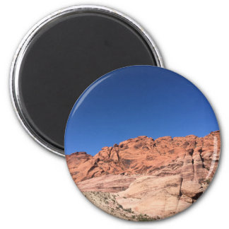 Red rocks and blue skies magnet