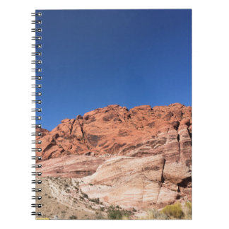 Red rocks and blue skies notebook