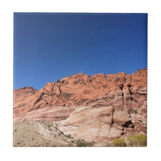 Red rocks and blue skies tile