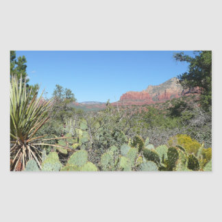 Red Rocks and Cacti I in Sedona Arizona