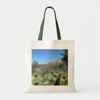 Red Rocks and Cacti I Tote Bag