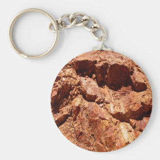 Red Rocks Geology Keychain