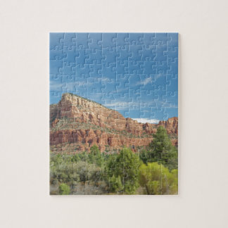 Red rocks in Sedona Jigsaw Puzzle