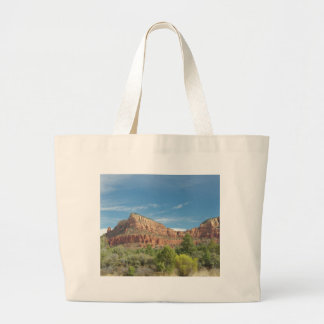Red rocks in Sedona Large Tote Bag
