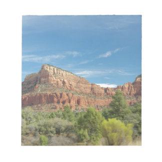 Red rocks in Sedona Notepad