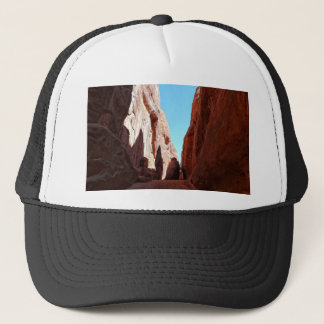 Red Rocks Moah Utah Southwestern Desert Scenery Trucker Hat