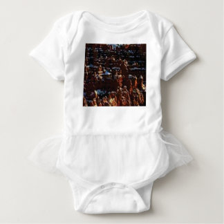red rocks on the mountain glory baby bodysuit
