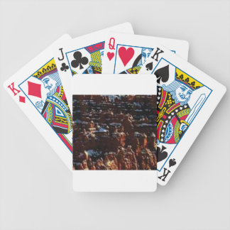 red rocks on the mountain glory bicycle playing cards