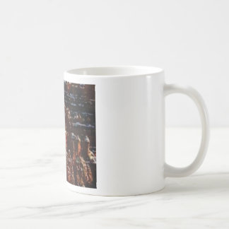 red rocks on the mountain glory coffee mug