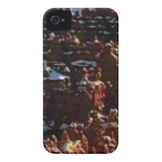 red rocks on the mountain glory iPhone 4 Case-Mate case