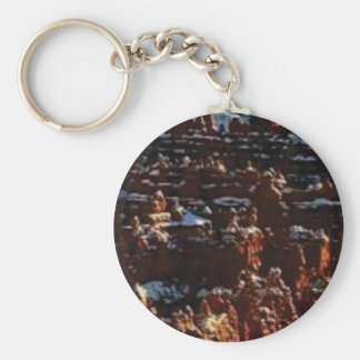 red rocks on the mountain glory keychain
