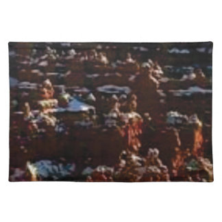 red rocks on the mountain glory placemat