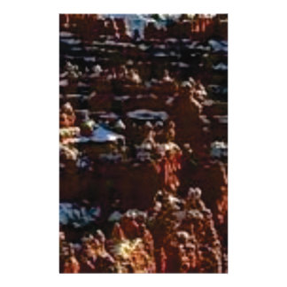 red rocks on the mountain glory stationery