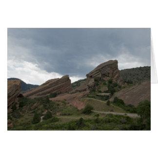 Red Rocks Park Colorado Card