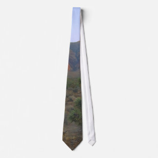 Red Rocks Right At Sunrise Tie