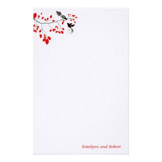 Red Romance Wedding Stationery