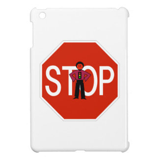 Red Ron Stop Sign iPad Mini Covers