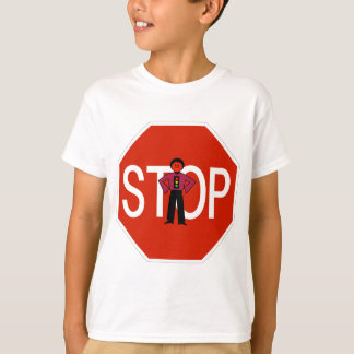 Red Ron Stop Sign T-Shirt