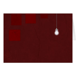 Red Room Light Card