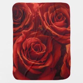 Red Rose Baby Blanket