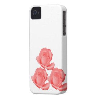 Red Rose BlackBerry Case