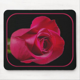 Red Rose Bud Mousepad