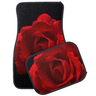 Red Rose - Car Floor Mats