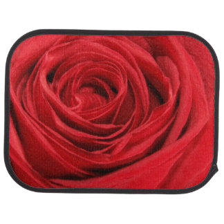 Red Rose Car Mats
