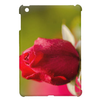 Red rose close up design iPad mini covers