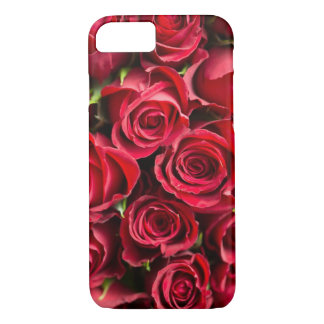 Red Rose Collage Close-Up Cell Phone Case