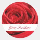Red Rose Custom Stickers