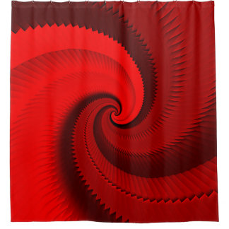 Red Rose Dragon Scales Spiral