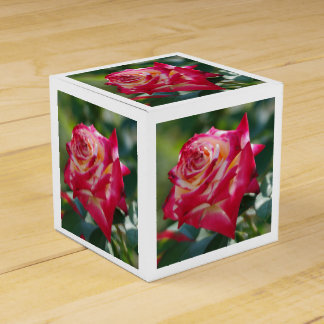 Red Rose Favor Box